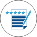 Ratings and Reviews Icon